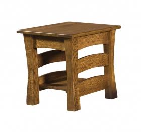 """AJ Barrington 22"""" End Table"""