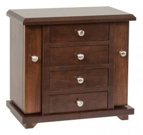 "13"" Dresser Top Jewelry Cabinet"