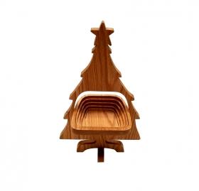 Christmas Tree Folding Basket