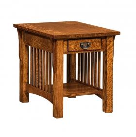 "AJ Cubic 22"" End Table"