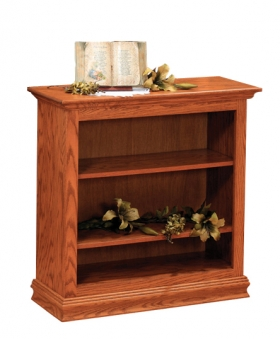 """Traditional 36"""" x 36"""" Bookcase"""