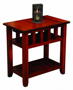 20th Century Mission End Table