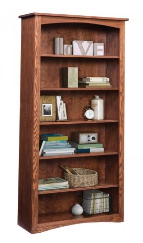 "Shaker 36"" x 72"" Bookcase - Oak"