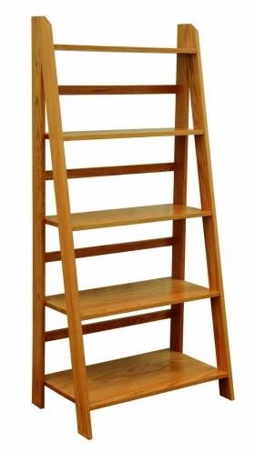 Self-Standing Ladder Bookshelf