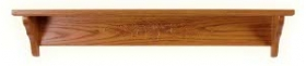 """Oak Acorn Shelf - 5"""" Deep Top"""