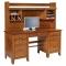 """Jacobsville 62"""" Double Pedestal Desk & Hutch"""