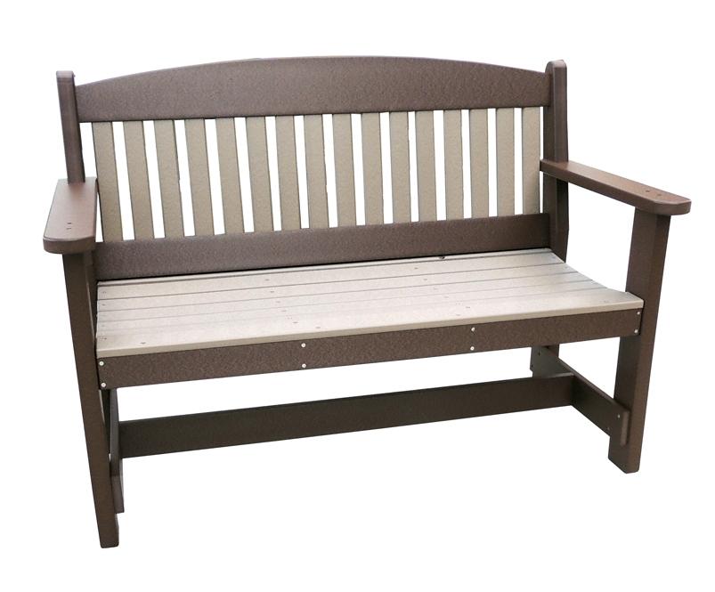 Brilliant Poly Arch Top 4 Garden Bench Machost Co Dining Chair Design Ideas Machostcouk