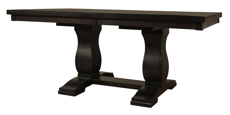 Tuscan Farmhouse Double Pedestal Dining Table