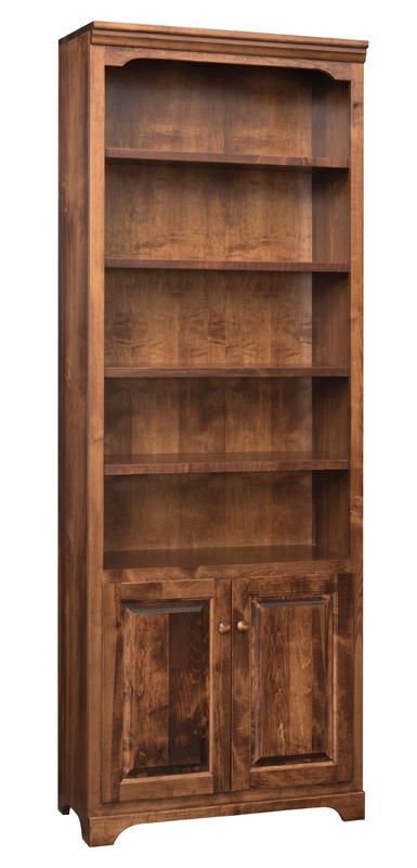 Office Bookcases Kingston 84 Bookshelf W Bottom Doors