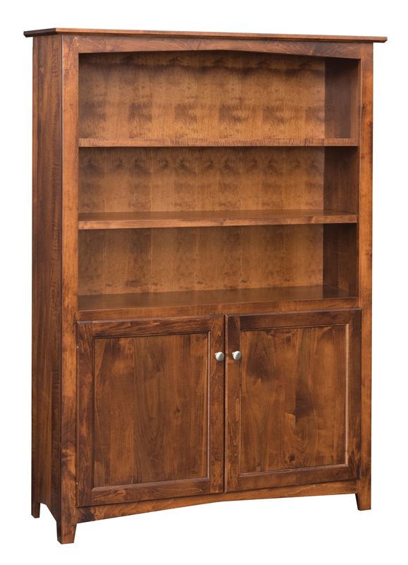 Linwood 60 Bookshelf W Bottom Doors