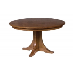 "42"" Mission Single Pedestal Table"