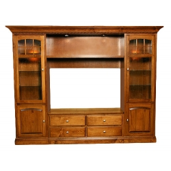 Centennial Entertainment Center Wall Unit