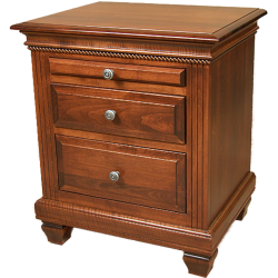 Florentine 2 Drawer Nightstand w/Pullout