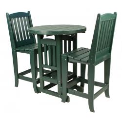 Poly Bar Table Set