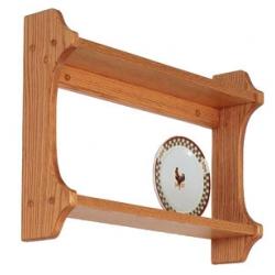 Oak Double Plate Shelf