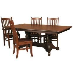 Double Pedestal Table Set.jpg
