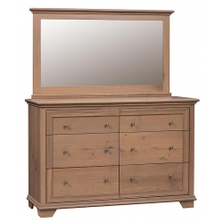 Pacific Heights Double Mule Dresser