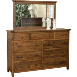 Timber Mill 9 Drawer Dresser