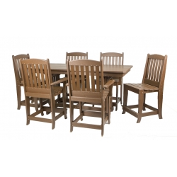 "33"" x 72"" Counter Dining Set"