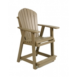Adirondack Arm Counter Chair