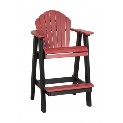 Poly Outdoor Dining Balcony Chair