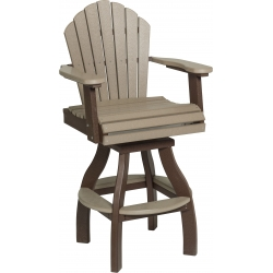 Poly Outdoor Cheyenne Pub Chair