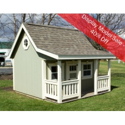 8 X 10 Playhouse With Porch