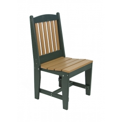 Slatted Side Dining Chair