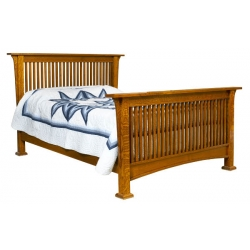 Dutch Corbel Mission Bed