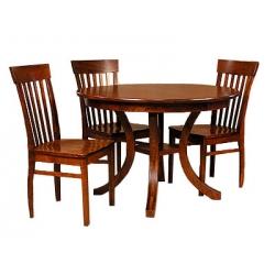 Carlisle Pedestal Table Set