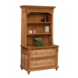 Bridgeport Lateral File & Bookshelf