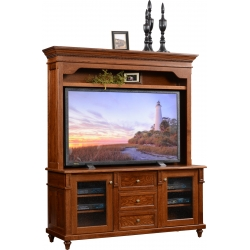 "Bridgeport 68"" Plasma TV Stand & Hutch"