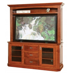 "Buckingham 68"" Plasma TV Stand & Hutch"