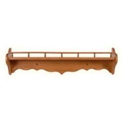 Curve Back Rail Shelf