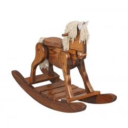 Rocking Horse W/ Padded Seat
