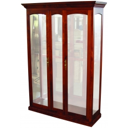 2-Door 1-Bay Picture Frame Curio