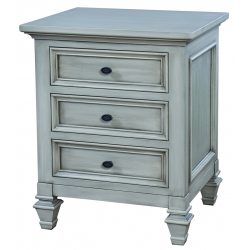 Legacy Village 3 Drawer Nightstand