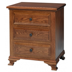 Berkshire 3 Drawer Nightstand