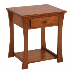 Abigail 1-Drawer Nightstand