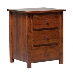 Christian Jacobs 3-Drawer Nightstand