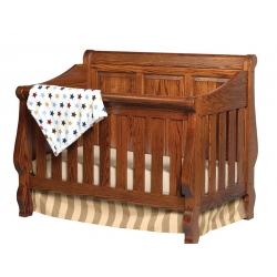 Heirloom Crib - Panel Back