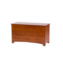 "Jackson 44"" Dovetail Chest - Rustic QSWO"