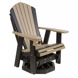 2' Swivel Adirondack Glider w/ Cup Holder
