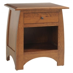 "Bordeaux 26"" 1 Drawer Nightstand"