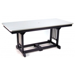 "33"" x 72"" Rectangular Table - Dining Height"
