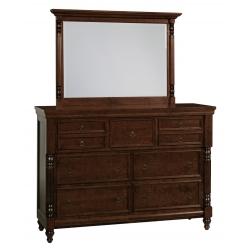 Savannah 7 Drawer High Dresser