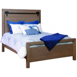 Liberty Bed - Rough Sawn Rustic White Oak
