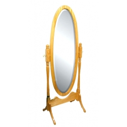Antique Oval Cheval Mirror