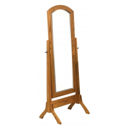 Antique Shaker Cheval Mirror