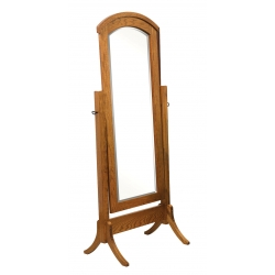 Crown Shaker Cheval Mirror